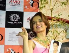 Kangana Launches Shobha De's Book In Mumbai Photos