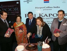 Kapoor Family And Nada Family At book Launch The Last One And Only Showman Book Launch By Ritu Nanda Photos