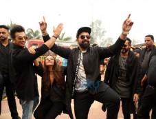 Neha Dhupia, Prince Narula , Ranvijay Singh And Nikhil Chinapa At Auditions Of Roadies Xtreme Photos
