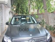Ranveer Singh And Alia Bhatt Spotted At Excel Office Khar Photos