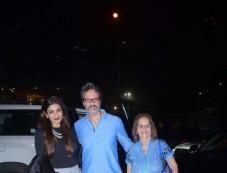 Raveena Tandon With Family Spotted At Nara Thai BKC Bandra Photos
