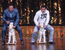 Salman Khan And Katrina Kaif On The Sets of 'Dance India Dance' Photos