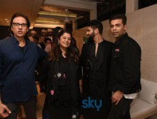Shahid Kapoor, Karan Johar And Others At Kunal Rawal's Store Launch Photos