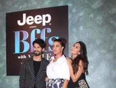 Shahid Kapoor, Neha Dhupia and Mira Rajput At Vogue BFFs Photos