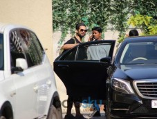 Shahid Kapoor Spotted At Gym Photos