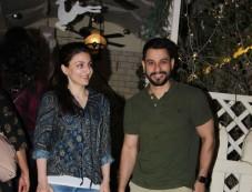 Soha Ali Khan And Kunal Khemu Spotted At Bandra Photos