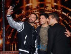 Sidharth Malhotra, Karan Johar And Rohit Shetty Snapped On The Sets Of Indias Next Superstars Photos