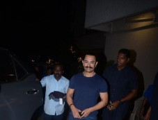 Aamir Khan Spotted At Pali Hill Bandra Photos