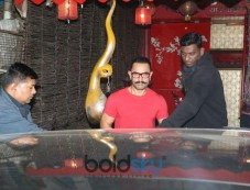 Aamir Khan Spotted At SPA In Bandra Photos