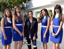 Aditi Rao Hydari At Launch Of Samsung Galaxy A+ In New Delhi Photos
