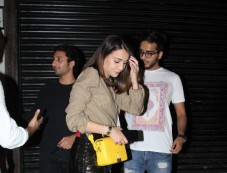 Ahan Shetty Spotted With His Girlfriend At Bandra Photos