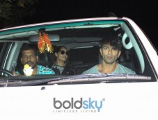 Bipasha Basu And Karan Singh Grover Spotted At Myrah SPA Juhu Photos