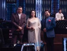 Bollywood Actress Hema Malini At 'Dance India Dance' Sets Photos