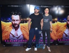 Celeb At Special Screening Of 'Kaalakaandi' Photos