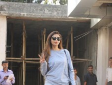 Daisy Shah Spotted At Clinic Photos
