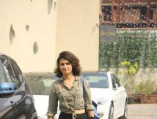 Fatima Sana Shaikh Spotted At Gym In Bandra Photos
