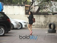 Janhvi Kapoor Spotted At Gym In Bandra Photos