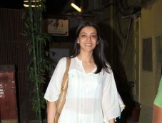 Kajal Aggarwal Spotted At Bandra Photos
