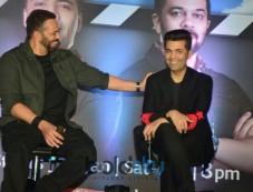 Karan Johar, Rohit Shetty At India's Next Superstars Press Conference Photos