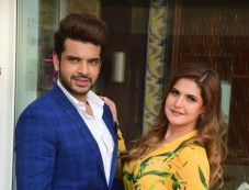 Karan Kundra And Zareen Khan At 1921 Interviews Photos