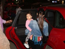 Mira Rajput With Daughter Misha Spotted At Khar Photos
