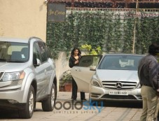 Nidhi Agrawal Spotted At Gym Photos