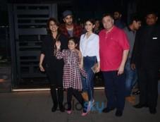 Ranbir Kapoor Spotted With Family  At Yauatcha BKC Bandra Photos