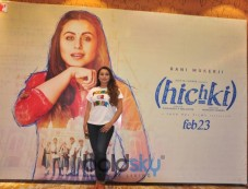 Rani Mukherjee At Kite Flying Festival For Promoting 'Hichki' In Ahmedabad Photos