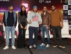 Saif Ali Khan And The Cast Of 'Kaalakaandi' Press Meet Photos