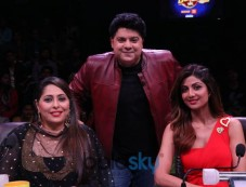 Sajid Khan Had A Gala Time On Super Dancer Chapter 2 Photos