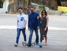 Sanjay Dutt And Dabboo Ratnani Spotted At Bandra Photos