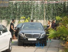 Shahid Kapoor And Mira Rajput At Gym In Bandra Photos