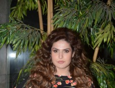 Zareen Khan At Andheri For Screening '1921' Photos