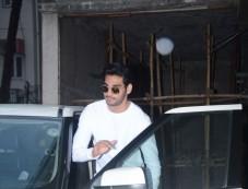 Ahan Shetty Spotted At Clinic Bandra Photos