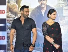 Ajay Devgn And Ileana D'Cruz At 'Raid' Trailer Launch Photos