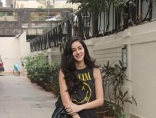 Ananya Pandey Spotted At Bandra Photos