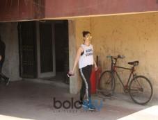Kareena Kapoor Khan Spotted At Gym In Bandra Photos