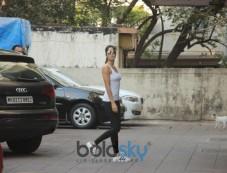 Katrina Kaif Spotted At Gym Bandra Photos