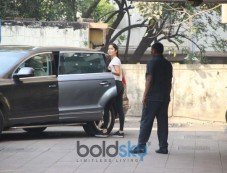 Katrina Kaif Spotted At Gym Bandra Photos