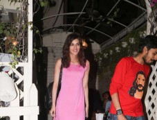 Kriti Sanon Spotted At Smoke House Bandra Photos