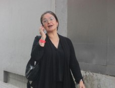 Pooja Bhatt Spotted At Office Photos