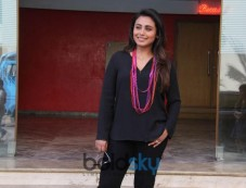 Rani Mukerji Promotion For Upcoming Movie Hichki Photos