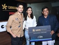 Sidharth Malhotra & Rakul Preet singh Launch Of New Carnival Select Lounge Photos