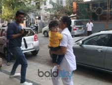 Taimur Ali Khan Spotted At Bandra Photos