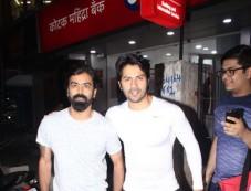 Varun Dhavan Spotted At Sujit Sarkar Office Juhu Photos