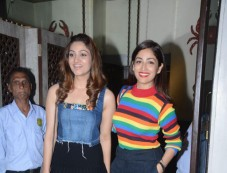 Yami Gautam With Sister Surilie Spotted At Bastian Bandra Photos