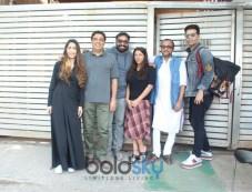 Zoya Akhtar's Home For Discuss Their Upcoming Movie Photos