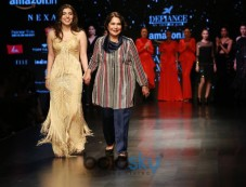 Designer Adarsh Gill At Amazon India Fashion Week In New Delhi Photos