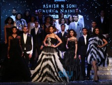 Designer Gauri,Nainika And Vaani Kapoor At Amazon India Fashion Week In New Delhi Photos