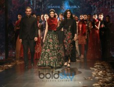 Designer Shyamal And Bhumika Collection,Diana Penty Walked The Ramp At Amazon India Fashion Week Photos
